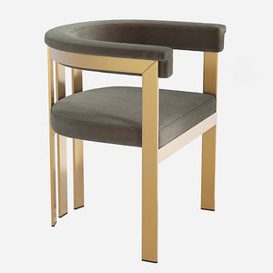 clubhouse dining chair 3D