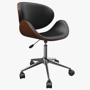 3D model realistic office chair