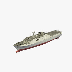 3D type 071 yuzhao ship