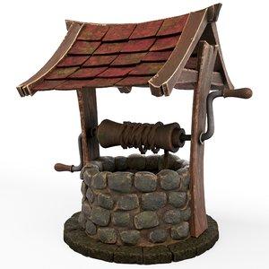 stone cartoon model