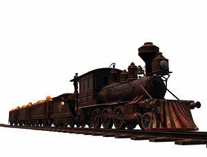 death train 3D model