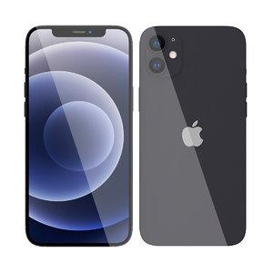 3D apple iphone 12 mini