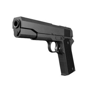 3D ww2 pistol model