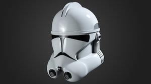 clone helmet 3D model
