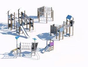 children playground 3D model