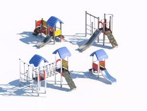 3D model children playground