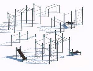 outdoor sport 3D model