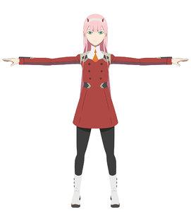 3D zero character model