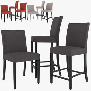 lowe cloth dining chair model