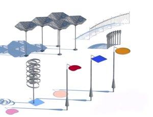 3D architecture structure