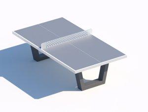 street table model