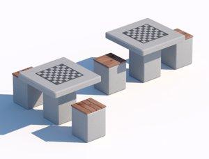 street chess 3D
