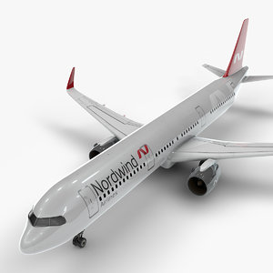 a321 neo norwind airlines 3D model