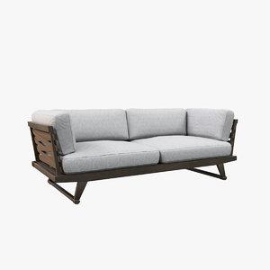 3D model sofa v18