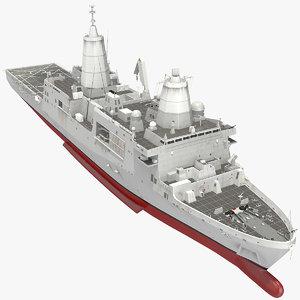 san antonio class amphibious model
