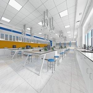 3D classroom chemistry model
