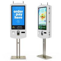 McDonalds self-service kiosk