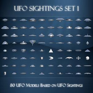 3d model ufo sightings 1