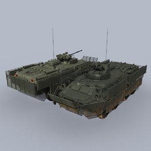 btr-82at btr-82a 3D