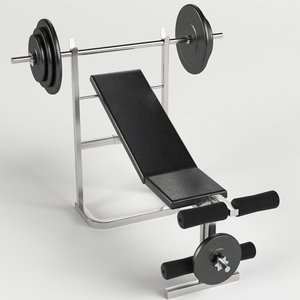 3ds bench weight gym