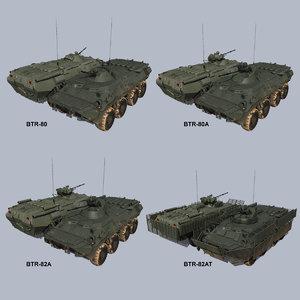 3D russian apcs btr-80