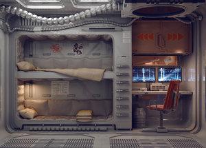 sci fi model