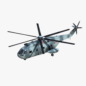 z18 assault helicopter 3D model