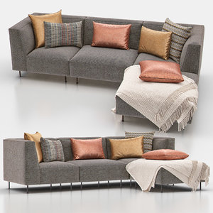 3D strom sectional sofa