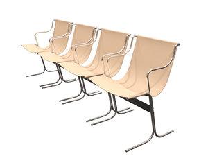 cingo chair designer 3D model