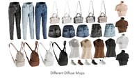 realistic clothing mix 12 model