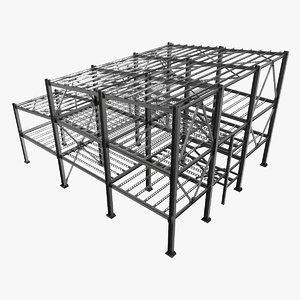 3D structure steel model