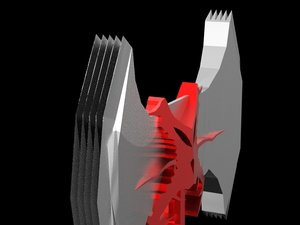 dragon bite double ax model