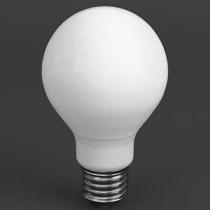 3d led - fluorescent light model