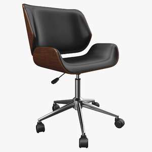 realistic office chair model