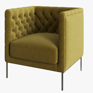 3D lipp armchair model