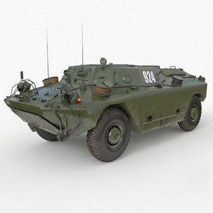 fug ot 65 army vehicle 3D model