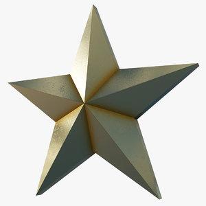 stars pack pbr 40 3D model
