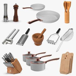 3D model kitchenware 6 kitchen