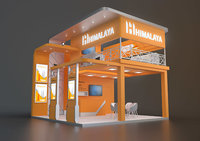 exhibition stand 6x6m, fors
