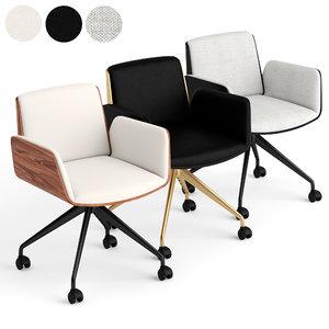 punt office chair 3D model