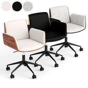 3D chair office model