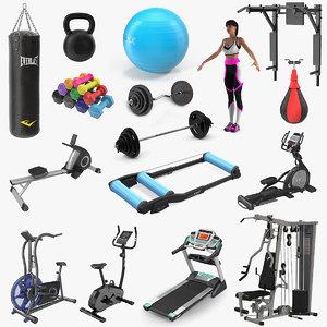 gym 6 3D model