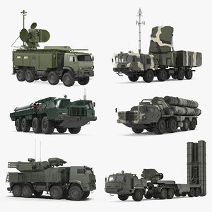 russian missile systems 3 3D