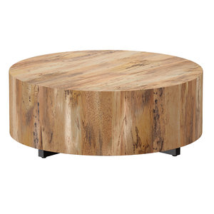 3D model coffee table wood spalted