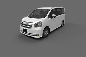 car: toyota noah 2010 3D model