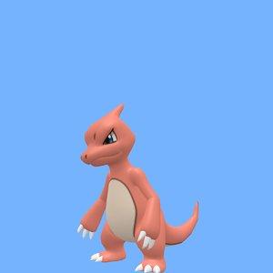 pokemon charmeleon 3D model