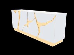 3D boca lapiaz sideboard model