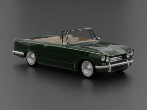 triumph vitesse mk2 convertible 3D