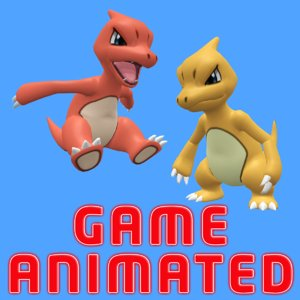 pokemon charmeleon 3D model