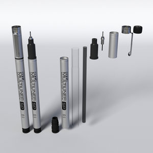 copic multiliner 3D